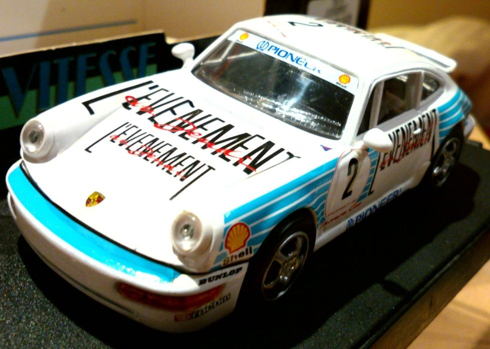 Porsche 911 CARRERA CUP #2 LEVENEMENT, Vitesse skala 1:43 Bielsko-Biała - image 1