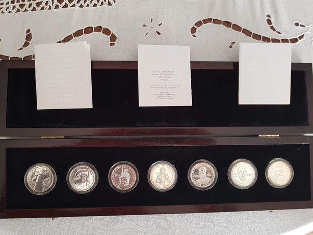 Ecu moedas prata, moedas antigas