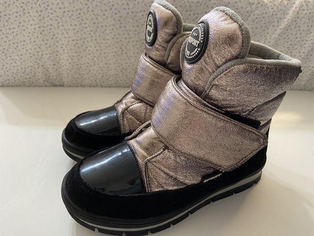 Сапоги ботинки  зимние овчина разм 32-стелька -21 см