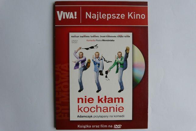 Nie kłam kochanie - film DVD oraz książka