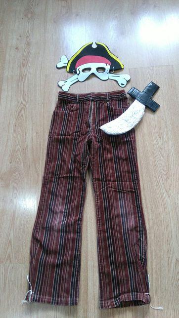 Strój dla chłopca przebranie kostium pirata 6-7lat