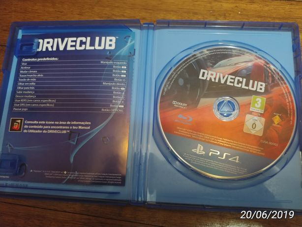 Driveclub jogo ps4