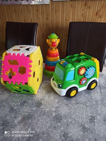 Zabawki sortery...