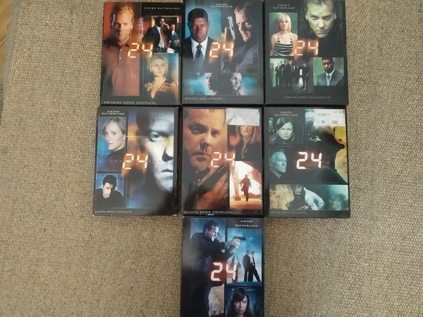 Série 24 - DVD Temporada 1-7