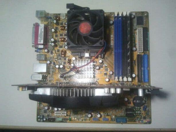 СРОЧНО ! Компьютер Asus комплектующие , разборка компьютера , Сборка