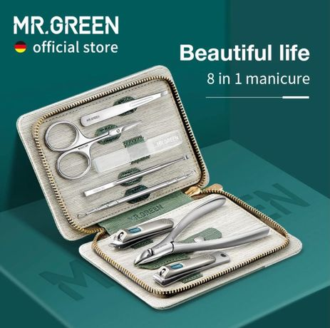 Маникюрный набор Mr. Green 8-в-1 (MR-8888)