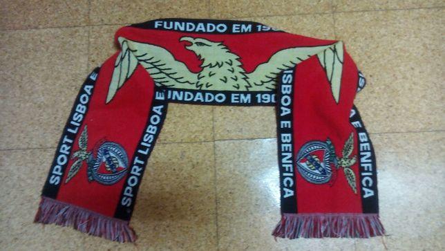 Cachecol de coleção do Sport Lisboa e Benfica (SLB)