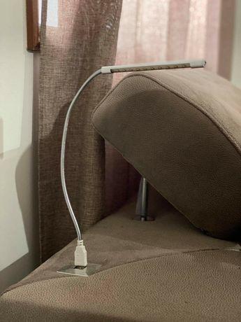 Candeeiro USB como novo