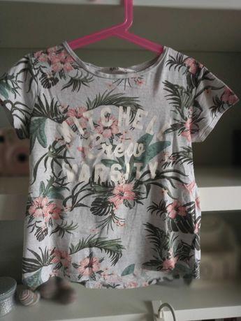 Dziewczęca koszulka H&M 134 -140