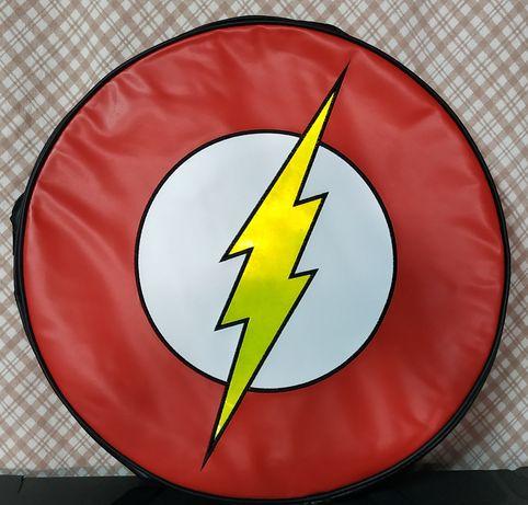 Mochila Redonda Flash DC comics