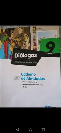 Cadernos atividade Português e matemática