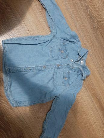 Koszula jeansowa chłopięca rozm. 80