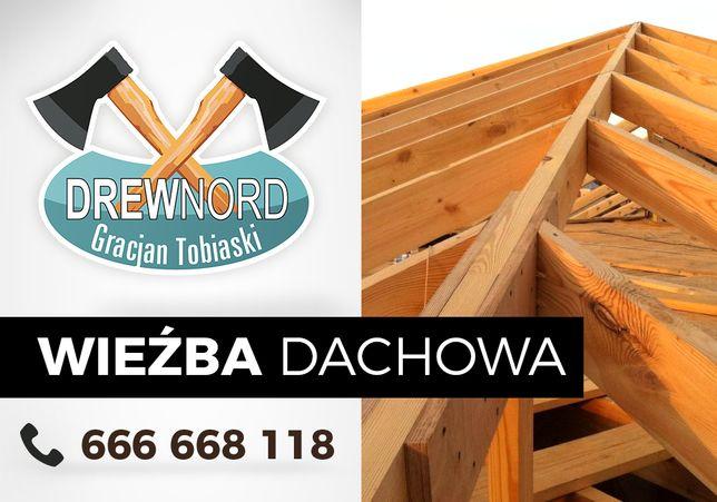 Wieźba Dachowa, Konstrukcje Drewniane, DACH, Krokwie