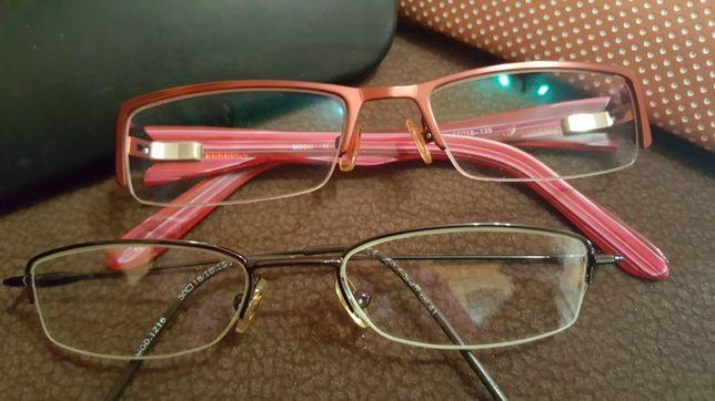Okazja 2 szt oprawki okulary korekcyjne damskie stan bardzo dobry