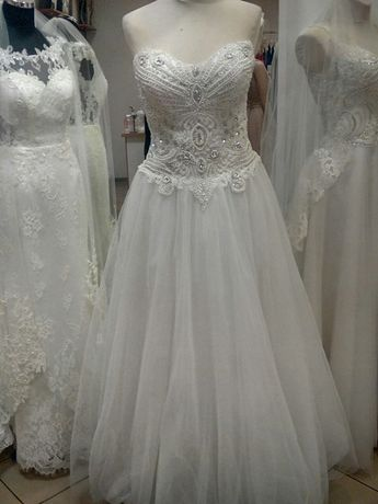 Suknia ślubna używana stan idealny rozm.40-42