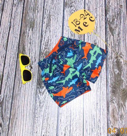 Фирменные шорты Rebel для мальчика 18-24 месяцев. 86-92 см