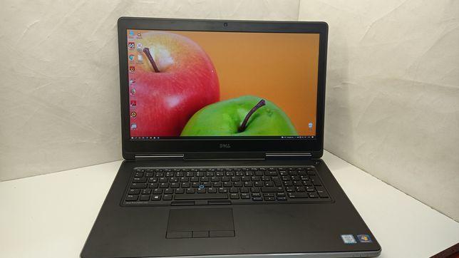 Ноутбук DELL Precision 7710/Core i7-6820HQ/16GB/500Gb SSD/QuadroM3000M