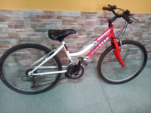 Bicicleta roda 24 Shimano