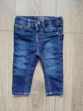 Spodnie jeansowe Reserved r. 74