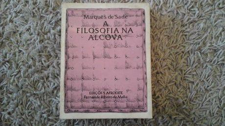 Marquês de Sade A Filosofia na Alcova 1975 Edições Afrodite