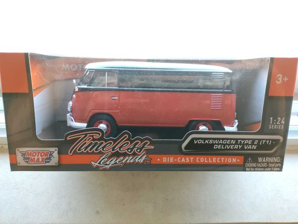 Volkswagen Transporter T2 Van 1:24 MotorMax