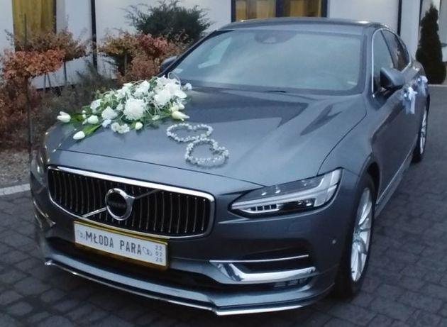 Komplet dekoracja weselna samochodu - DELUXE