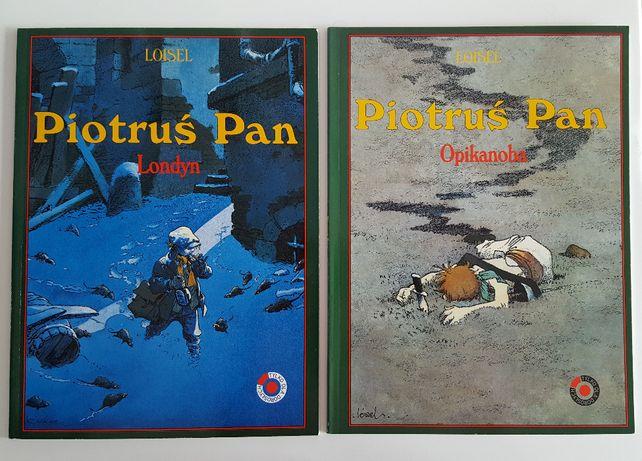 Piotruś Pan komiks Londyn 1 i Opikanoba 2