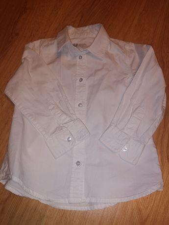 Koszula biała rozmiar 92 H&M