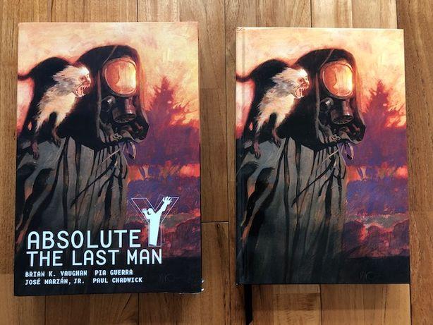 Absolute Y The Last Man Vol. 1 HC VAUGHAN