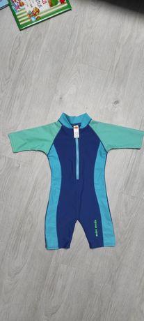 Strój kostium kąpielowy kombinezon dziecięcy do wody pływania 92 98
