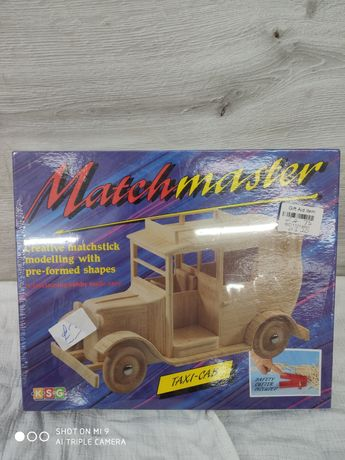 Matchmaster model drewniany do sklejania