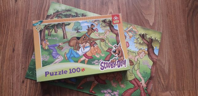 Puzzle Scooby-Doo 100szt