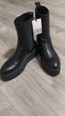 Ботинки новые деми Zara 39