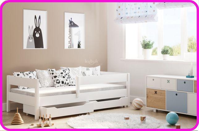 Дитяче ліжко з бортиком 140x70 160x80 180*80 180x90 200x90 Польща -ЧН