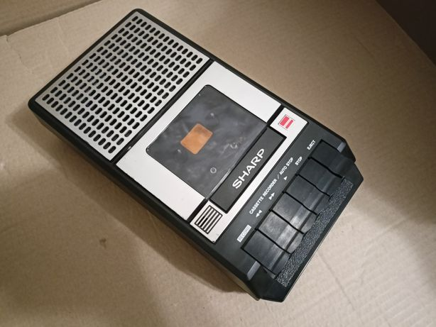 Magnetofon kasetowy Sharp RD-610 amerykański model rzadki super stan!