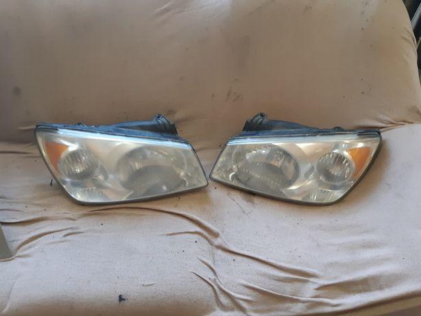 Киа Cerato 2004-2006.Фары,задние фонари,противотуманки,панель приборов