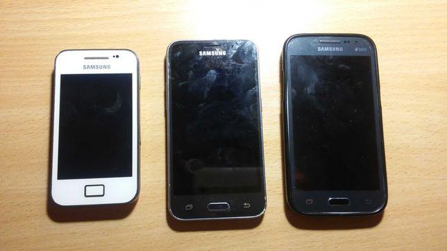 Samsung GT-S5830i + SM-G361H/DS + SM-J120H/DS (Под ремонт)