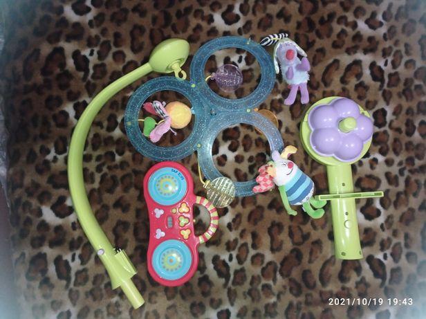 Музыкальный мобиль с mp3 Taf toys