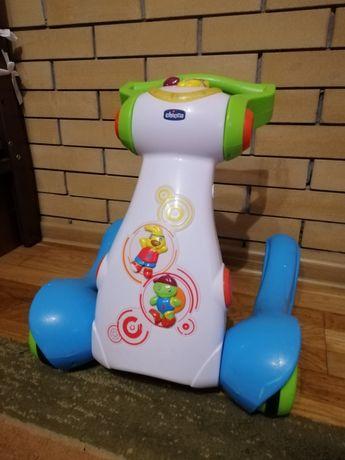 Музыкальные детские ходунки-толокар Chicco