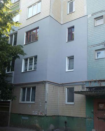 Утепление фасадов квартир в Луганске.