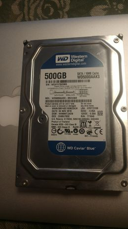Жёсткий диск HDD SATA 500 Gb Гб WD в отличном состоянии