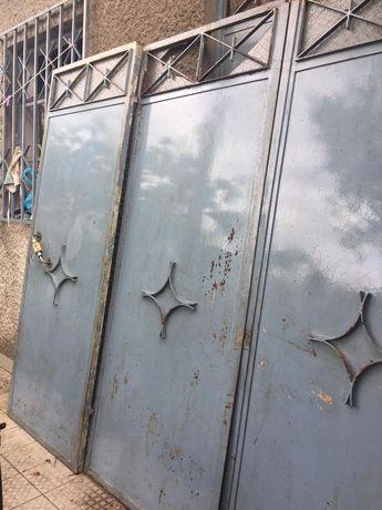 Portões 3 folhas ferro