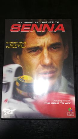 Duplo DVD Senna - The Official Tribute
