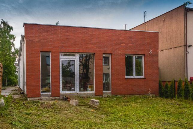 Budynek parterowy, nowy, Pobiedziska, ul. Wawrzyniaka 16