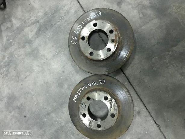 Discos De travao Da Frente Renault Master 3 III 2.3