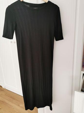 Sukienka czarna za kolano 36 Zara ciążowa