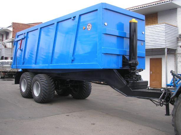 Полуприцеп тракторный самосвальный нтс 20 01 под т150, мтз 1221