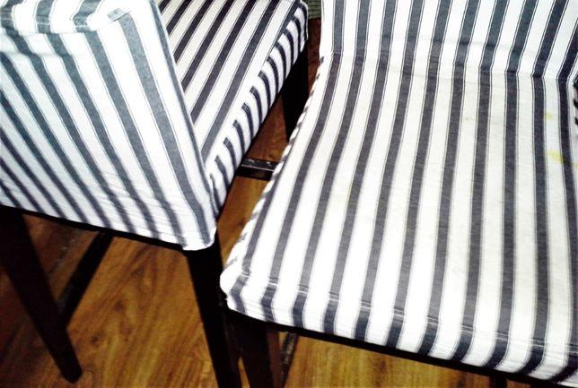 IKEA HENRIKSDAL / krzesło barowe/ Stołek barowy HOKER / 63 cm/ 2 szt