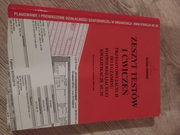Zeszyt testów i ćwiczeń egzamin AU.35 Bożena Padurek