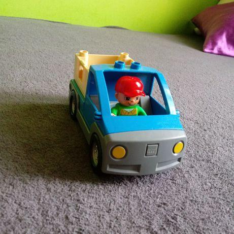Lego duplo autko ze skrzynią